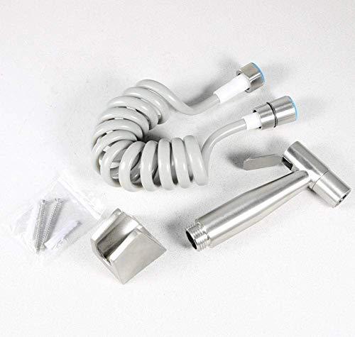 Portable Bidet Spray Kit-304 Stainless Steel Bidet Sprayer Bidet Nozzle for Toilet Spray Gun