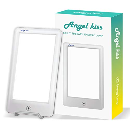 Check Out This Light Therapy Lamp - Angel Kiss UV Free 10,000 Lux Led White Light Lamp - Touch Contr...