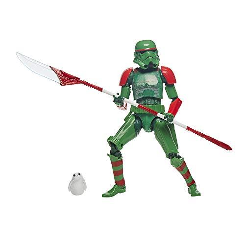 Hasbro Star Wars The Black Series Stormtrooper des Imperiums (Festtagsedition) Spielzeug mit PORG, 15 cm große Festtags Action-Figuren zum Sammeln