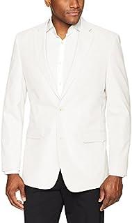 Tommy Hilfiger Men's Modern Fit White Linen Suit Separate...