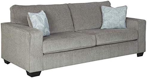 Best Signature Design by Ashley - Altari Modern Chenille Queen Sofa Sleeper, Light Gray