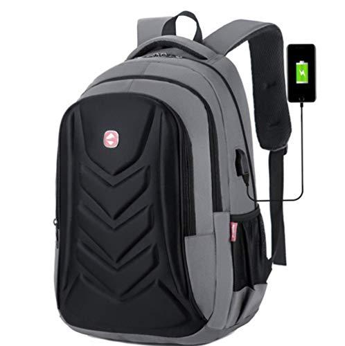 Rucksack Herren Laptop Rucksäcke, Business Herren Reiserucksack, 15,6 Zoll Rucksack, Jungen Schultaschen-C