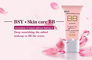 BSY Noni Natural BB Cream | Blemish Balm Cream | Whitening | UV Protecting F25 PA++ | Anti-Wrinkle| 30g