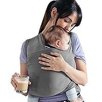 Elastisch-es Tragetuch Baby - BIO-Baumwolle - Neugeborene-n Babytragetuch Tragesystem Babytrage
