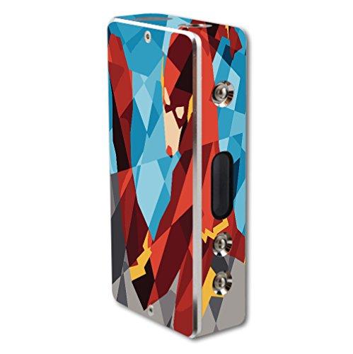 Pioneer4You iPV2S 60W Vape E-Cig Mod Box Vinyl DECAL STICKER Skin Wrap/Comic Book Hero Polygon Design