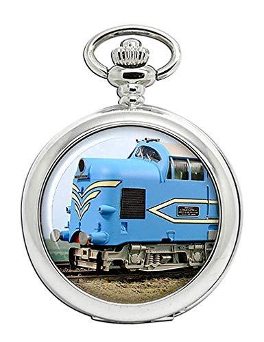 British Railways en Inglés eléctrico DP1Deltic locomotora Full Hunter reloj de bolsillo
