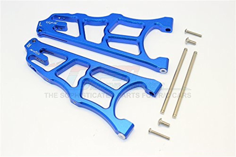 Arrma black 6S BLX (AR106009, AR106011) & Fazon 6S BLX (AR106020) Upgrade Parts Aluminum Front Lower Arms  1Pr bluee