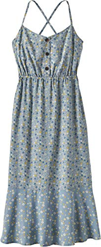 Patagonia W's Lost Wildflower Dress Robe Femme, Bleu (Cover Crop Small : Berlin Blue), M