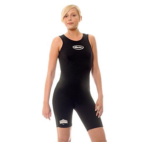 ASCAN Neopren Underwear Metalite Monoshort, schwarz, 38