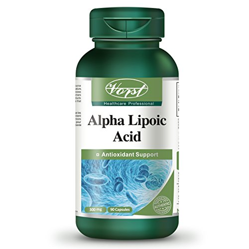 Alpha Lipoic Acid (ALA) 300mg 90 Capsules Glucose Leveler Immune System Boosting Supplement