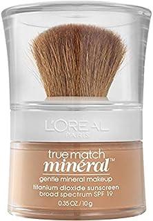 L'OrEal Paris Makeup True Match Loose Powder Mineral Foundation, Natural Beige, 0. 35 oz.