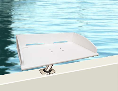 Brocraft Boat Bait Table/Boat Fillet Table/Boat Cutting Board for Rod Holder Mount