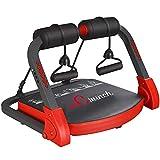 RLF LF AB Core Workout Exercise, Equipo De Entrenamiento Multifuncional para Todo El Cuerpo con Bandas De Resistencia para Gimnasio En Casa, Máquina Compacta De Entrenamiento Abdominal,