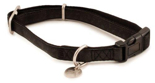 PetSafe Bark Avenue Quick Snap Hundehalsband, Größe M, 1,9 cm, Schwarz