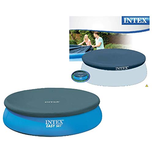Intex Easy Set Pool Cover - Poolabdeckplane - Ø 305 cm - Für Easy Set Pool