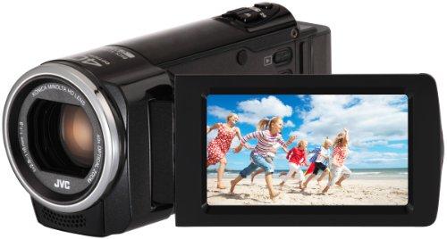 JVC GZ-E105 SD - Cámara de vídeo Digital (FHD SDXC, Zoom óptico de 40x, Pantalla LCD de 2,7'), Color Negro [Importado de Reino Unido]