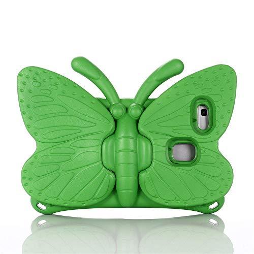 zhishen Cubierta para T3 8 Pulgadas Caja para niños para MediaPad T3 8.0 Pulgadas KOB-L09 KOB-W09 EVA Tablet Tablet Sket Shell + Pen-Verde_T3 8.0 Pulgadas KOB-L09