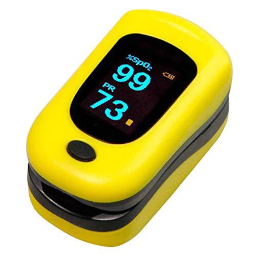 BIlinli Fingerspitzen-Pulsoximeter SPO2 PR PI Pulsoxymeter Pulsioximetro-Fingerpulsoximeter