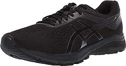 top 10 asics basketball shoes ASICS GT-1000 7, 9XW, Black / Phantom