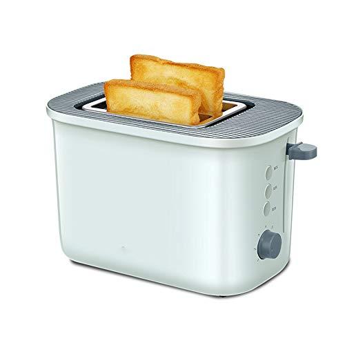 NAFE Toaster Toaster, 220V 680W, 2 Scheiben doppelseitiger Toaster, Toast mit automatischer Frühstücksmaschine, 7 Feuerkraft, grün,Brotbackautomaten