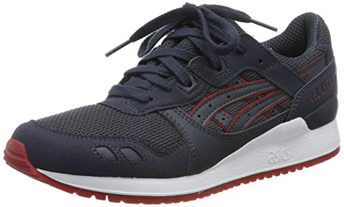 ASICS Unisex-Erwachsene Gel-Lyte III HN6A3-5050 Sneaker, Mehrfarbig (Blue 001), 42 EU