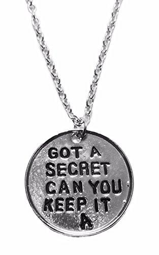 Pretty Little Liars I GOT A SECRET CAN YOU KEEP IT A Pendant/ Necklace