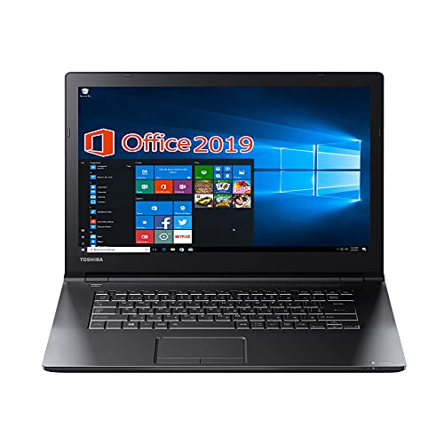 東芝 ノートPC B35/15.6型/MS Office 2019/Win 10/Core i3-5005U/wajunのWIFI/Bluetooth/HDMI/DVD(外付けの場合がある)/4GB/128GB SSD (整備済み品)