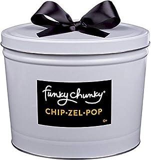 Funky Chunky Deluxe Gift Tin, Chip-Zel-Pop