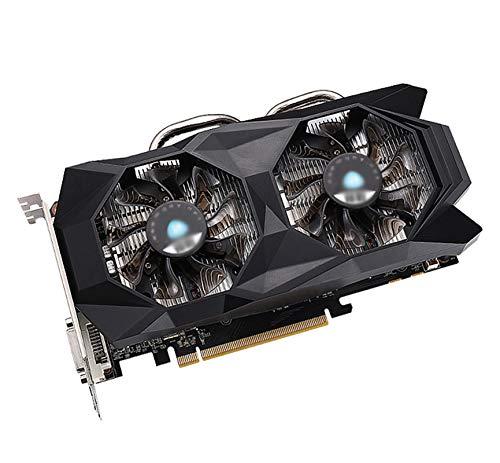 ZHMIAO Grafikkarte NVIDIA GTX 1060 3G DDR5 192bit Grafikkarte, kompatibel mit PCI-E 3.0 HDMI + DVI-D + DP-Schnittstelle