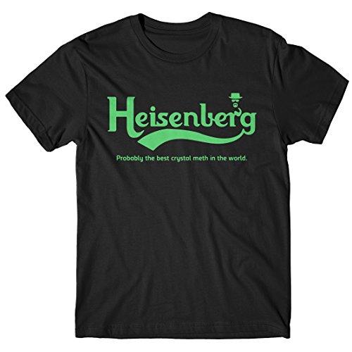 LaMAGLIERIA Herren-T-Shirt Heisenberg Carlsberg - T-Shirt Breaking Bad 100% Baumwolle, XXL, Schwarz