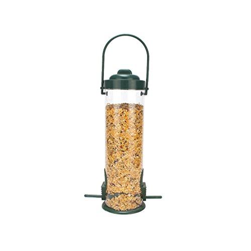 Flip Vogelfutterspender, Top Metall Seed Hanging Bird Feeder Bird Feeder Haustier Wasserkocher (Color : #1)