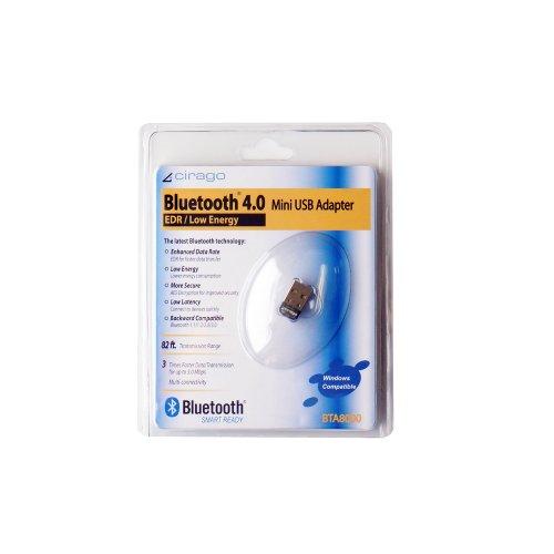 Cirago Bluetooth 4.0 USB Mini Adapter (BTA8000)