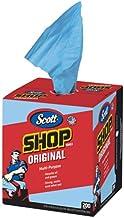 """Scott Kimberly-Clark 75190 Shop Towels, 10"""" x 12"""", Blue (1 Box of 200)"""