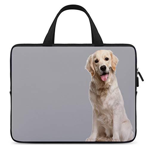 Universal Laptop Computer Tablet,Case,Cover for Apple/MacBook/HP/Acer/Asus/Dell/Lenovo/Samsung,Laptop Sleeve,Color for Dog Mammal Golden Retriever Retriever,17inch