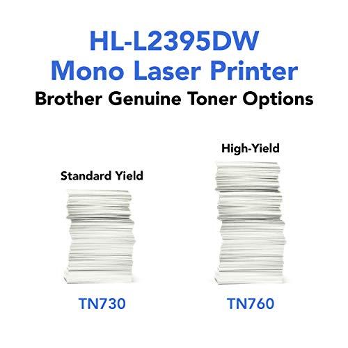 Brother HL-L2380DW Impresora láser monocromática inalámbrica, Amazon Dash reposición habilitada