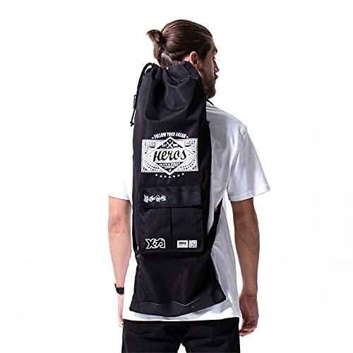 MACKAR Portable Skateboard Backpacks for Standard Board,Skateboards Carry Bag for Travel with 2 Adjustable Straps,Sports Bags for Men Adult