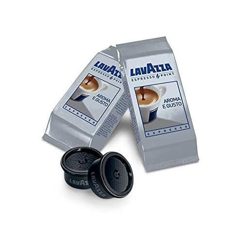 Lavazza Espresso Point Capsule Caffè Aroma e Gusto Espresso, 50 Astucci da 2 Capsule, 100 Capsule