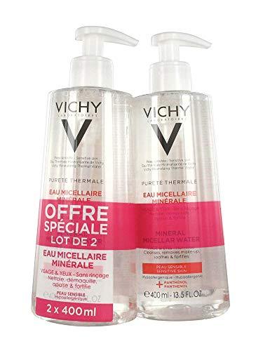 Vichy Pureté Thermale Mineral Micellar Water 2 x 400ml