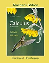 Teacher's Edition of Calculus for the AP® Course