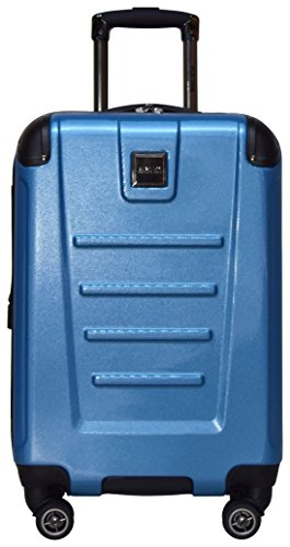 Kenneth Cole Reaction Get Away 20' Wide Body Carry On Luggage Spinner (Ocean Blue)