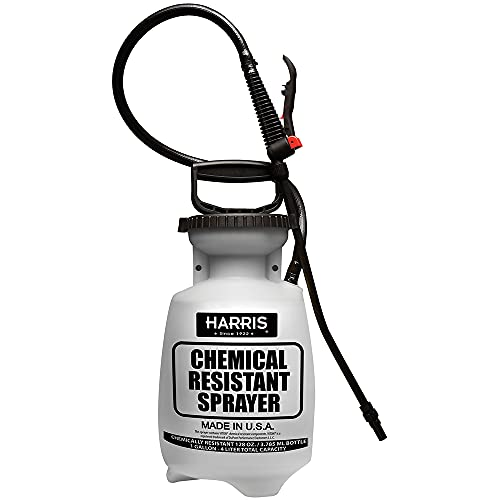 Harris Tank Pump Sprayer, Chemically Resistant, 1 Gallon for Garden, Weeds, and Lawn