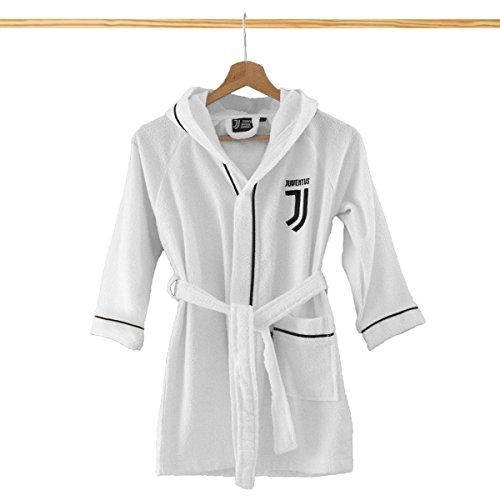 Peignoir en micro-éponge pour enfant FC Juventus, nouveau logo 8 – 10 ans