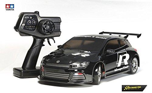 Dickie - Tamiya 300057883 - 01:10 XB VW Scirocco Drift Spec (TT-01D / E) Veicoli