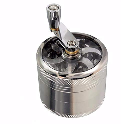 Grinder Electrico 2 unids de 4 capas Herbal Herbal Tobacco Grinder Grinder...