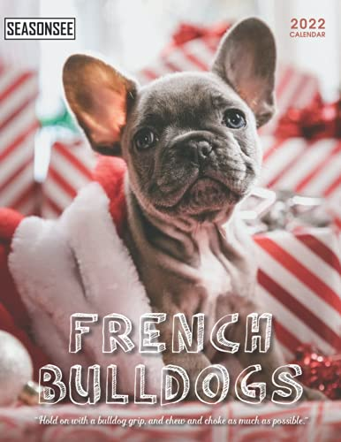 French Bulldogs Calendar 2022: Gifts for Friends and Family with 18-month Monthly Calendar in 8.5x11 inch