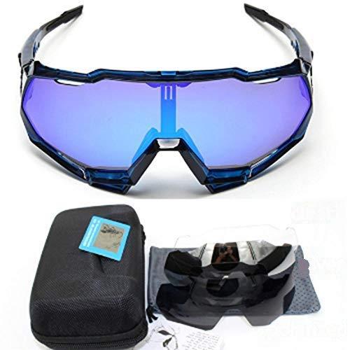 XXYQ Gafas de Sol polarizadas para Bicicleta Deportiva al Aire Libre para Hombres Gafas de Ciclismo Bicicleta de montaña Eyewear-speedtrap_7
