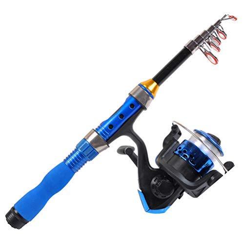 Suszian Canne à pêche Portable, Mini Canne à pêche...