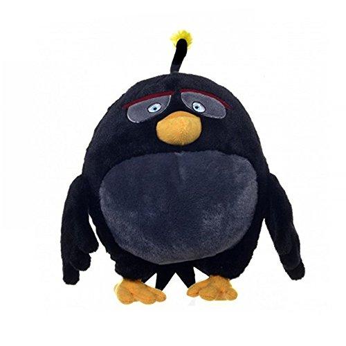 Rovio Angry Birds - Angry Birds Die Film-Charaktere - Bomb Plüsch-Spielzeug 7 Zoll