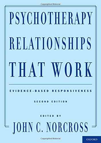 Price comparison product image Psychotherapy Relationships That Work: Evidence-Based Responsiveness