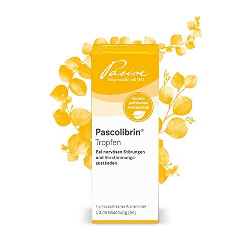Pascoe® Pascolibrin Tropfen: zur Stimmungsaufhellung - bei nervösen Störungen & Verstimmungszuständen - mit Passionsblume (Passiflora incarnata) - laktosefrei, zuckerfrei, glutenfrei - 50 ml
